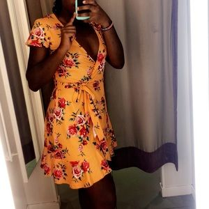 H&M • floral dress